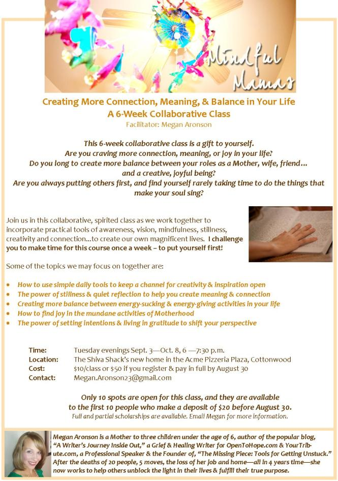 Mindful Mamas Sept 3